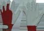 Nahast peopesaga sõrmik takjakinnitusega